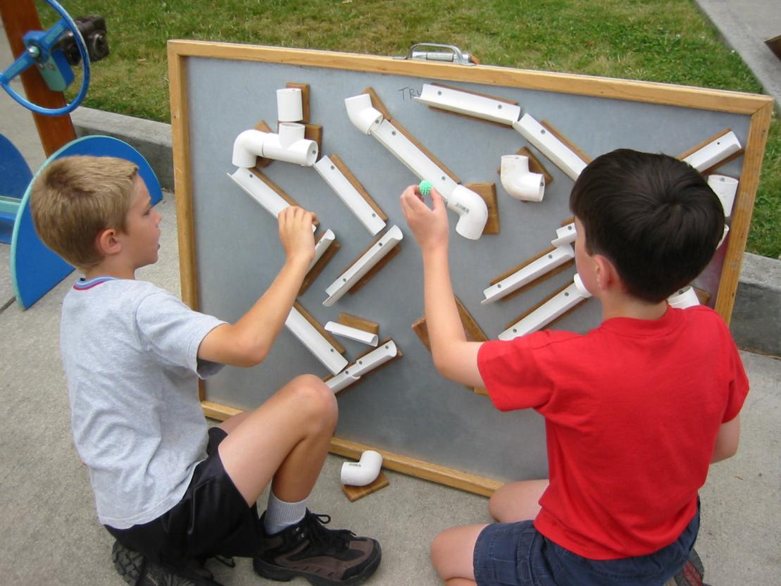 Поделки из пластиковых труб пвх для детского сада