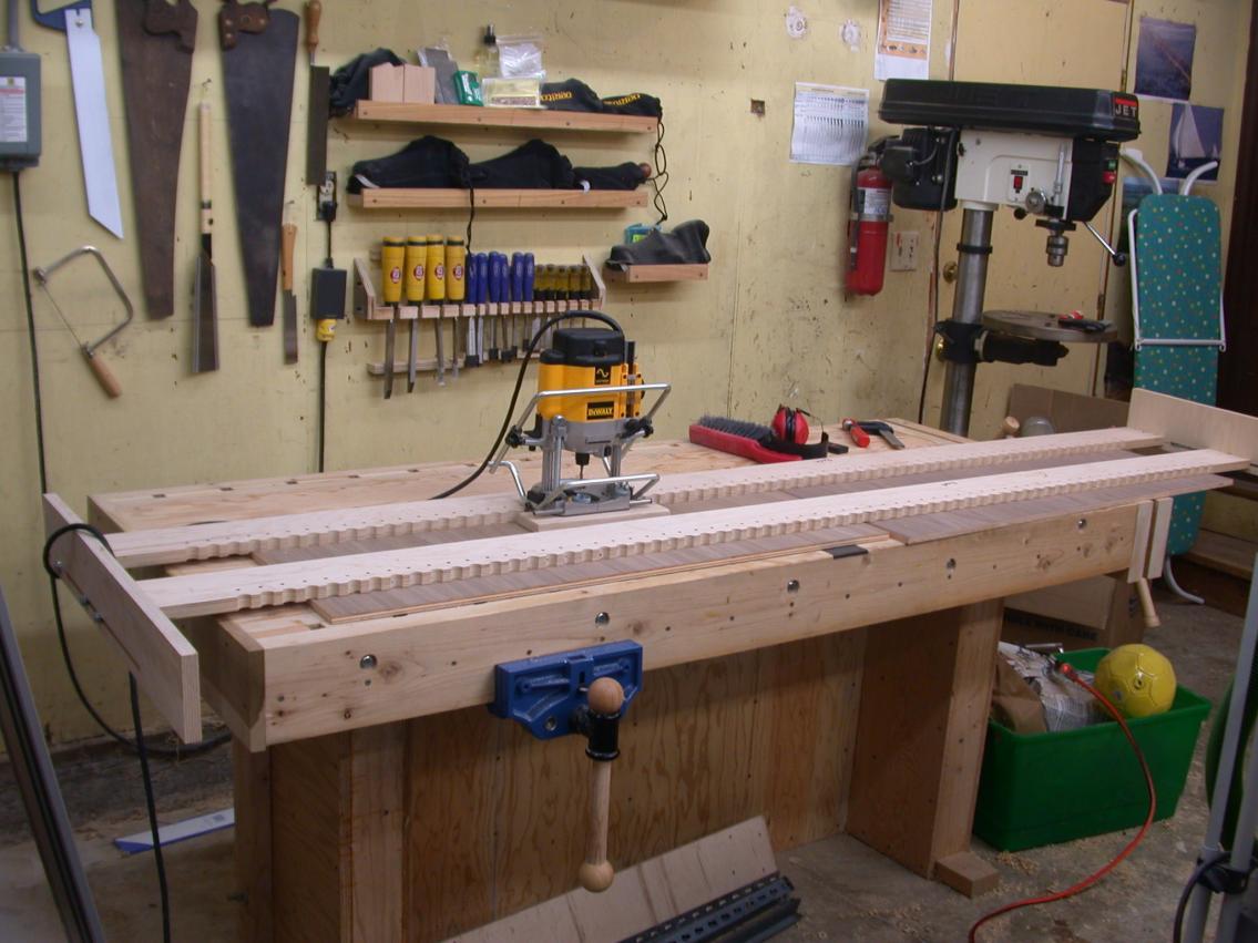 Sawmill Creek Woodworking Community - Shelf Pin Jigs and Methods
